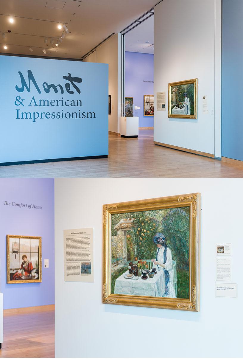Claude Monet at the Hunter Museum of American Art - Nandini Makrandi